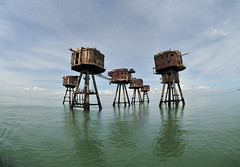 DSC_1621 (Thomas Cogley) Tags: red sands fort maunsell army world war two 2 ii ww2 wwii defence antiaircraft tower metal rust decay river thames sea water old historic project redsand history