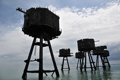 DSC_1635 (Thomas Cogley) Tags: red sands fort maunsell army world war two 2 ii ww2 wwii defence antiaircraft tower metal rust decay river thames sea water old historic project redsand history