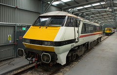 91119 (Lucas31 Transport Photography) Tags: trains railway lner class91 crewe 91119 intercity