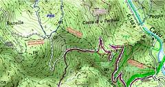 Carte-Chemin-Luviu (Corse sauvage) Tags: carte ign operata opération operatadu08062019 cavu luviu ancienchemindeluviu luvviu piste pistedeluviu démaquisage tronçonneuse nettoyage ratissage