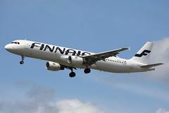 OH-LZD - LHR (B747GAL) Tags: finnair airbus a321211 lhr heathrow egll ohlzd