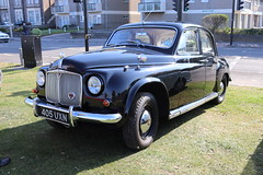 Rover 75 405UXN (Andrew 2.8i) Tags: classics meet show cars car classic weston westonsupermare british saloon sedan p4 75 rover