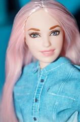 Barbie (farmspeedracer) Tags: barbie doll toy mattel playline fashionistas fashionista 109 curvy pink pale girl smile 2019