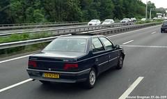 Peugeot 405 GRX 1.6 1995 (XBXG) Tags: lshj02 peugeot 405 grx 16 1995 peugeot405 a9 amstelveen nederland holland netherlands paysbas youngtimer french car auto automobile voiture ancienne française france frankrijk vehicle outdoor