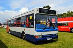 34517 GX04EXL (PD3.) Tags: bus buses psv pcv bournemouth dorset england uk rapt group yellow wilts stagecoach 34517 gx04exl gx04 exl transbus dennis dart plaxton