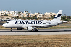 Finnair Airbus A320-214     OH-LXC     LMML (Melvin Debono) Tags: finnair airbus a320214   ohlxc lmml cn 1544 melvin debono spotting canon eos 5d mark iv 100400mm plane planes photography airport airplane aircraft aviation malta mla