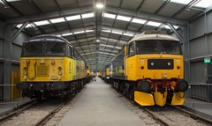 56049 & 47593 (Lucas31 Transport Photography) Tags: trains railway class47 crewe 56049 47593
