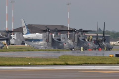 12-0063 CV-22B US Air Force - 7th SOS (eigjb) Tags: raf mildenhall us air force base airport egun usaf usafe aircraft plane spotting aviation 7th sos aeroplane cv22b osprey tilt rotor boeing bell v22 090017 c32a 757 120063