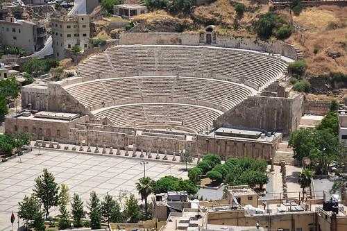 Roman theatre (Amman, Jordan 2019)