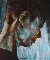 Lost in sadness (Stéphane-Hervé's Art) Tags: