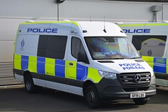 SF19 LDX (S11 AUN) Tags: police scotland mercedes sprinter psu support unit pov public order vehicle carrier 999 emergency response van sf19ldx