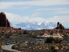 11 La Sal Mountains (ups travel pics 4u) Tags: archesnationalpark doublearchtrail lasalmountains