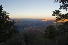 Grand Canyon Sunset (LunarKate) Tags: us usa united states america unitedstates az arizona landscape beautiful coconino county grand canyon grandcanyon south rim southrim mountains canyons evening sunset nikon d40 march 2017 travel traveling