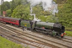 Schools no.926 'Repton' (alts1985) Tags: schools no926 repton nymr north yorkshire moors railway steam train goathland 050619