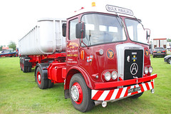 Atkinson Borderer Tipper LJ Brumpton RNK 148M (SR Photos Torksey) Tags: transport truck haulage hgv lorry lgv logistics road commercial vehicle aec rally newark 2019 vintage classic atkinson borderer tipper brumpton