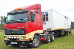 Volvo FH12 L496 NAO (SR Photos Torksey) Tags: transport truck haulage hgv lorry lgv logistics road commercial vehicle aec rally newark 2019 vintage classic volvo fh