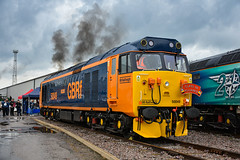 50049 - Crewe Diesel Depot Open Day - 08/06/19. (TRphotography04) Tags: gb railfreight gbrf 50049 defiance bursts life crewe diesel depot 2019 charity open day