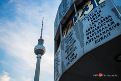 2992 (Bethie Inthesky) Tags: germany berlin german capital europe tvtower lookup number alexanderplatz world