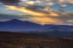 In the Pastel Country (Gio_guarda_le_stelle) Tags: landscape sunset tuscany light valdorcia toscana colline