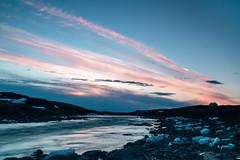 Tupic Dreams (Clare Kines Photography) Tags: arctic longexposure nunavut rapids sunset river north scenic sylviegrinellriver canada sylviegrinellpark iqaluit