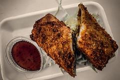Potato roti (Melissa Maples) Tags: antalya turkey türkiye asia 土耳其 apple iphone iphonex cameraphone summer sahilantalyayaşamparkı streetfoodfestival potatoroti sauce fried food worldofasia
