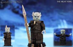Custom LEGO Game of Thrones: The Night King (LegoMatic9) Tags: custom lego game thrones the night king white walker minifigure