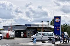 Gulf, Princethorpe Warwickshire. (EYBusman) Tags: gulf petrol gas gasoline filling service station garage princethorpe warwickshire fosse way murco pace certas energy eybusman
