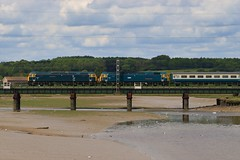 IMG_7633 (RyanPhotos99) Tags: gbrf gb railfreight staff charter 47727 47749 caledonain sleeper cattawade manningtree geml