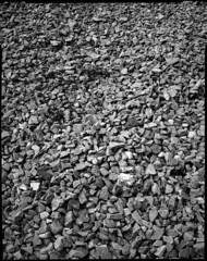 Tas de cailloux (Philippe Torterotot) Tags: 4x5 chamonix45n2 fomapan100 v700 blackandwhite noirblanc noiretblanc nantes cailloux iledenantes paysdelaloire loireatlantique grandformat largeformat largeformatcamera
