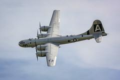 "Boeing B-29 ""Superfortress"" 'FIFI' EIMG_7808 (ggbarrett07) Tags: midatlanticairmuseum worldwarii boeingb29superfortress fifi aircraft airplane bomber engines wwiiweekend"