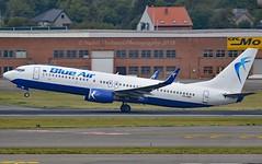 Blue Air YR-BMI Boeing 737-8K5 Winglets cn/27980-45 @ EBBR / BRU 18-08-2018 (Nabil Molinari Photography) Tags: blue air yrbmi boeing 7378k5 winglets cn2798045 ebbr bru 18082018