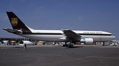 F-WWAL 2001-06-25 LBG (Gert-Jan Vis) Tags: fwwal airbus a300 a300f ups lebourget salon 817 n134up kodachrome