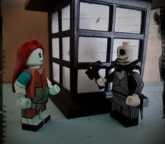 Jack & Sally (claudine6677) Tags: lego minifiguren jack skellington sally nightmare before christmas spielzeug spielfiguren toys
