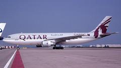 A7-ABY 2007-06-07 AMS (Gert-Jan Vis) Tags: a7aby airbus a300 a300f schiphol qatar qatarcargo kodachrome 560