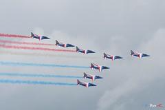 La Patrouille de France (B. Dur-C.) Tags: la ferté alais lafertéalais 2019 patrouilledefrance boeing 777 er airfrance air show paf alphajet