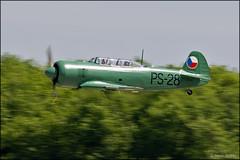 LET C-11 ( YAK-11 ) OK-JZE (Pavel Vanka) Tags: let c11 yak11 okjze yakovlev czechrepublic czechoslovak lkcv caslav czech aircraft plane airplane spotter spotting fly flying airshow aviation canon warbird