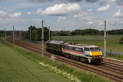 Intercity Heads Home (mattjspencer) Tags: trains railway diesel locomotive class91 class67