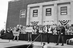 IMG_5732_0419 (mfhiatt) Tags: politics desmoines iowa blackandwhite photojournalism documentary campaign rally caucus 2020 election president democrat petebuttigieg buttigieg mayor pete