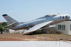 HAF Thunderstreak F-84F 36745 (Vortex Photography - Duncan Monk) Tags: haf hellenic air force thunderstreak f84 warbird relic wfu crete souda bay 115 cw jet aircraft aviation greek 36745