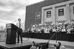 IMG_5765_0419 (mfhiatt) Tags: politics desmoines iowa blackandwhite photojournalism documentary campaign rally caucus 2020 election president democrat petebuttigieg buttigieg mayor pete