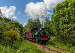 Tanfield Railway 9-6-2019 (KS Railway Gallery) Tags: tanfield railway uk steam hl no2 bowes bridge