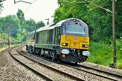 Lancaster. (Sneeze82) Tags: 67006 royaltrain class67 lancaster dbcargo allchange