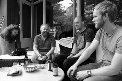 Juliette, Dan, Derick & Tobias