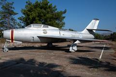 HAF Republic Thunderstreak F-84F 11815 340 Mira (Vortex Photography - Duncan Monk) Tags: haf hellenic air force thunderstreak f84 warbird relic wfu crete souda bay 115 cw jet aircraft aviation greek 11815