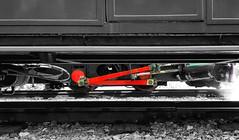Dolbadarn's Rods (Edited) (MylesBeevor) Tags: dolbadarn steam loco saddle tank locomotive llanberis lake railway llr llyn padarn quarry hunslet welsh wales engine train trains cymru uk dinorwic snowdonia narrow gauge