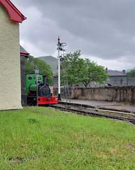 Dolbadarn At Gilfach Ddu (MylesBeevor) Tags: dolbadarn steam loco saddle tank locomotive llanberis lake railway llr llyn padarn quarry hunslet welsh wales engine train trains cymru uk dinorwic snowdonia narrow gauge