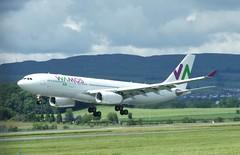 EC-LNH (Gary Kenney Aviation) Tags: wamos vamos eclnh spain glasgow airport aircraft landing airbus a330