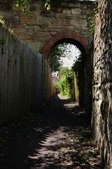 Ember Path (Mr Ian Lamb 2) Tags: rural village path lane footpath warkworth burgage northumberland allotments medieval