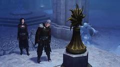 Repentance (Jillian-613) Tags: skyrim tes games screenshot elves elf altmer vampire