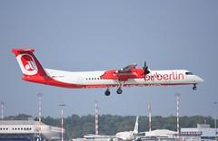 D-ABQS DHC8 Q400 Eurowings/Ex Air Berlin (corrydave) Tags: 4539 dhc8 dash8 q400 airberlin dabqs milan malpensa eurowings